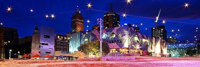 Fed Square Twilight
