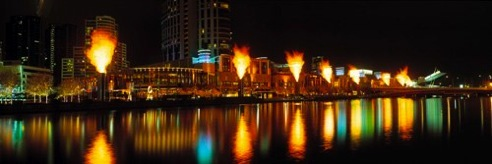 Crown Casino Flames, Melbourne